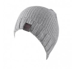 CABLE KNITTED BEANIE HAT